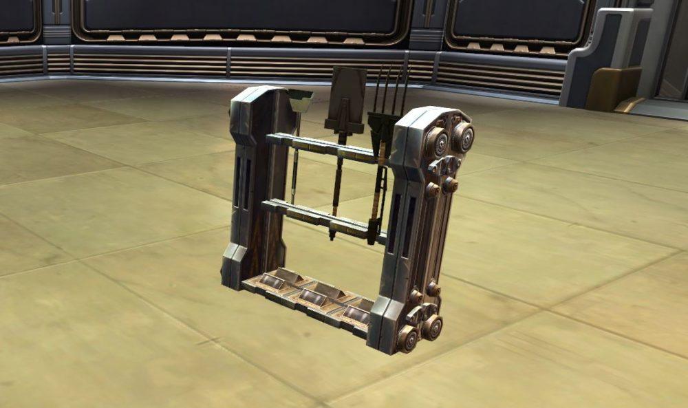 SWTOR Basic Tool Rack