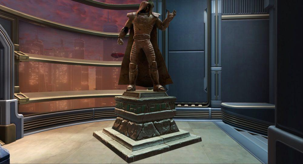 SWTOR Commemorative Statue of Darth Malgus