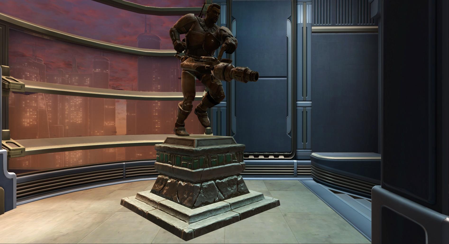 Commemorative Statue of Jace Malcolm