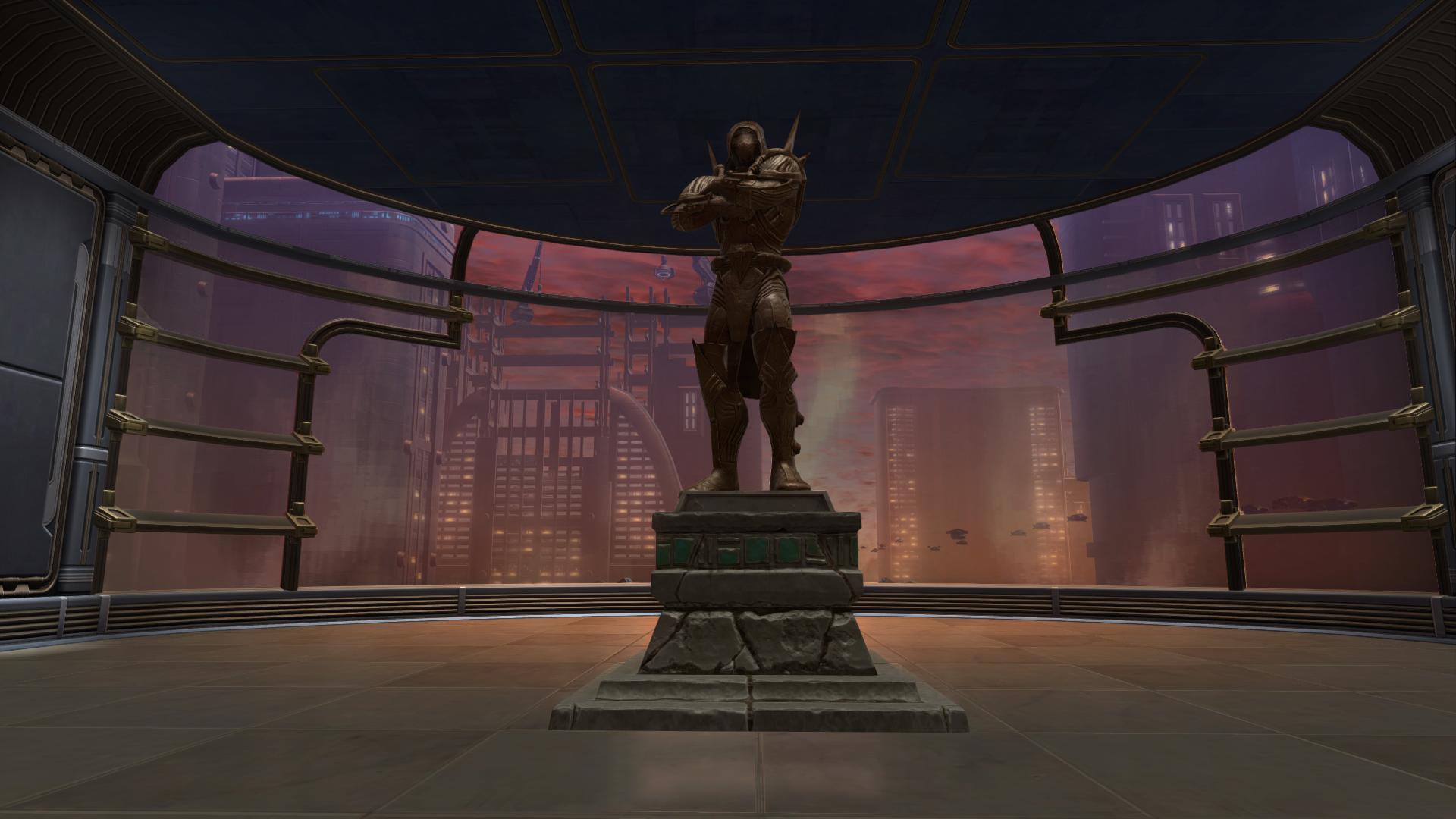 Commemorative Statue of Darth Marr