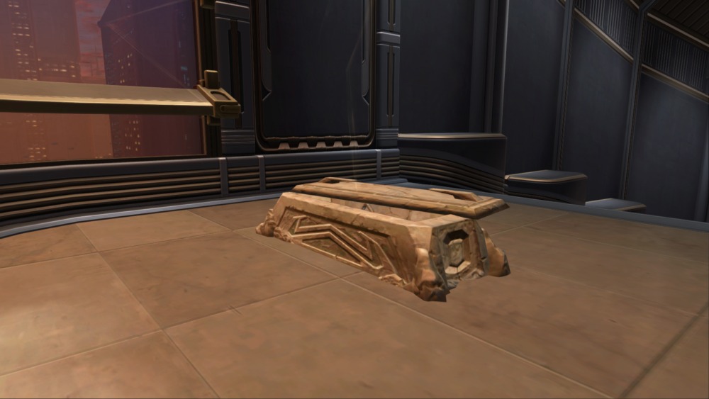SWTOR Forgotten Sith Sarcophagus