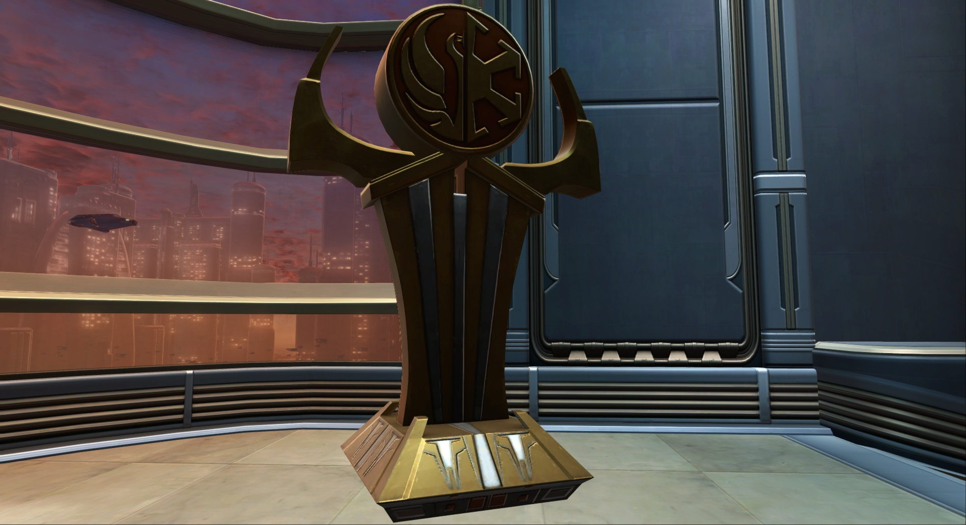 Galactic Alliance Statue