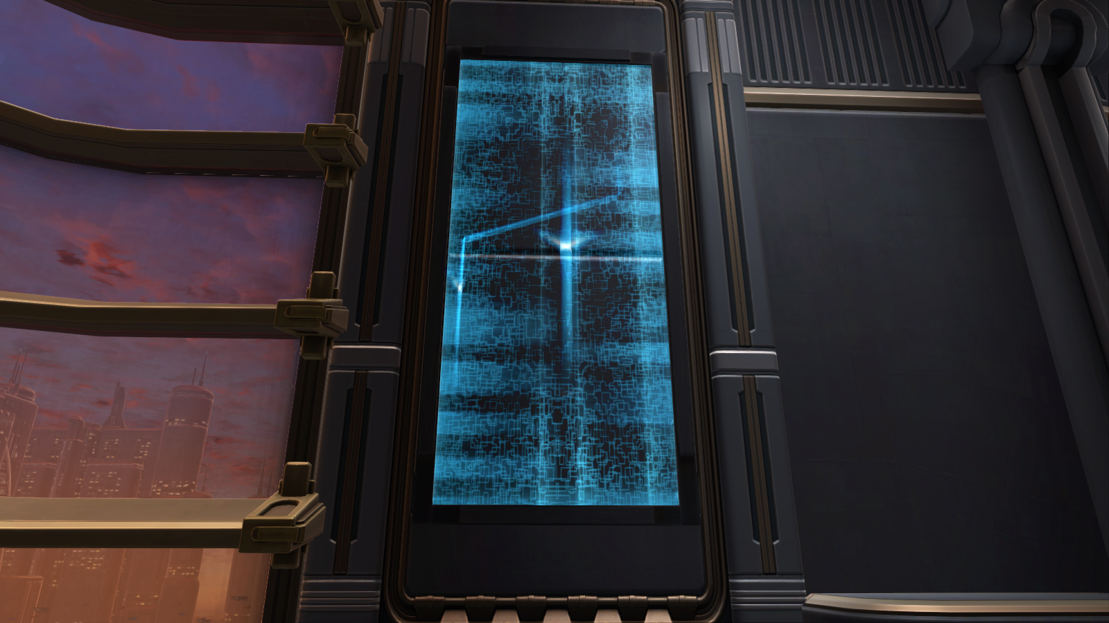 Gree Wall Panel Decoration | SWTOR Strongholds