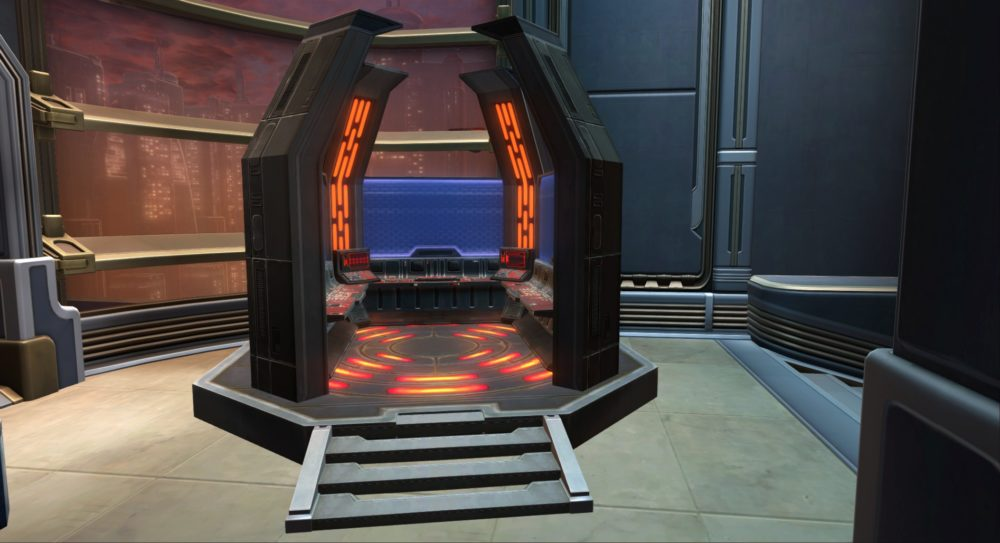 SWTOR Imperial Command Center
