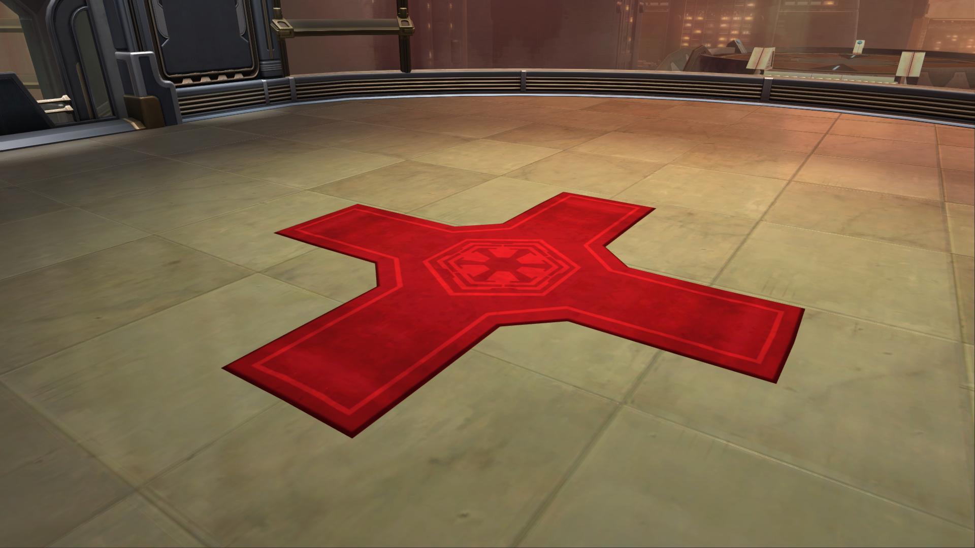 Imperial Logo Rug