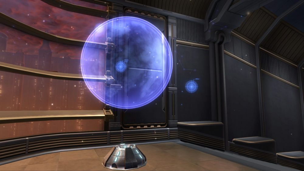 SWTOR Planetary Holoprojector