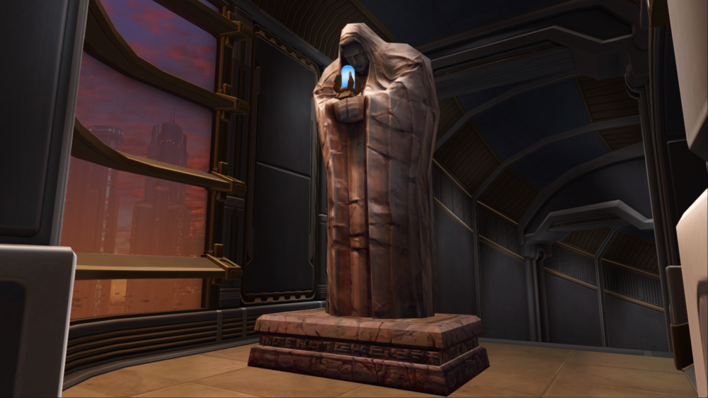 SWTOR Sith Tomb Column Statue