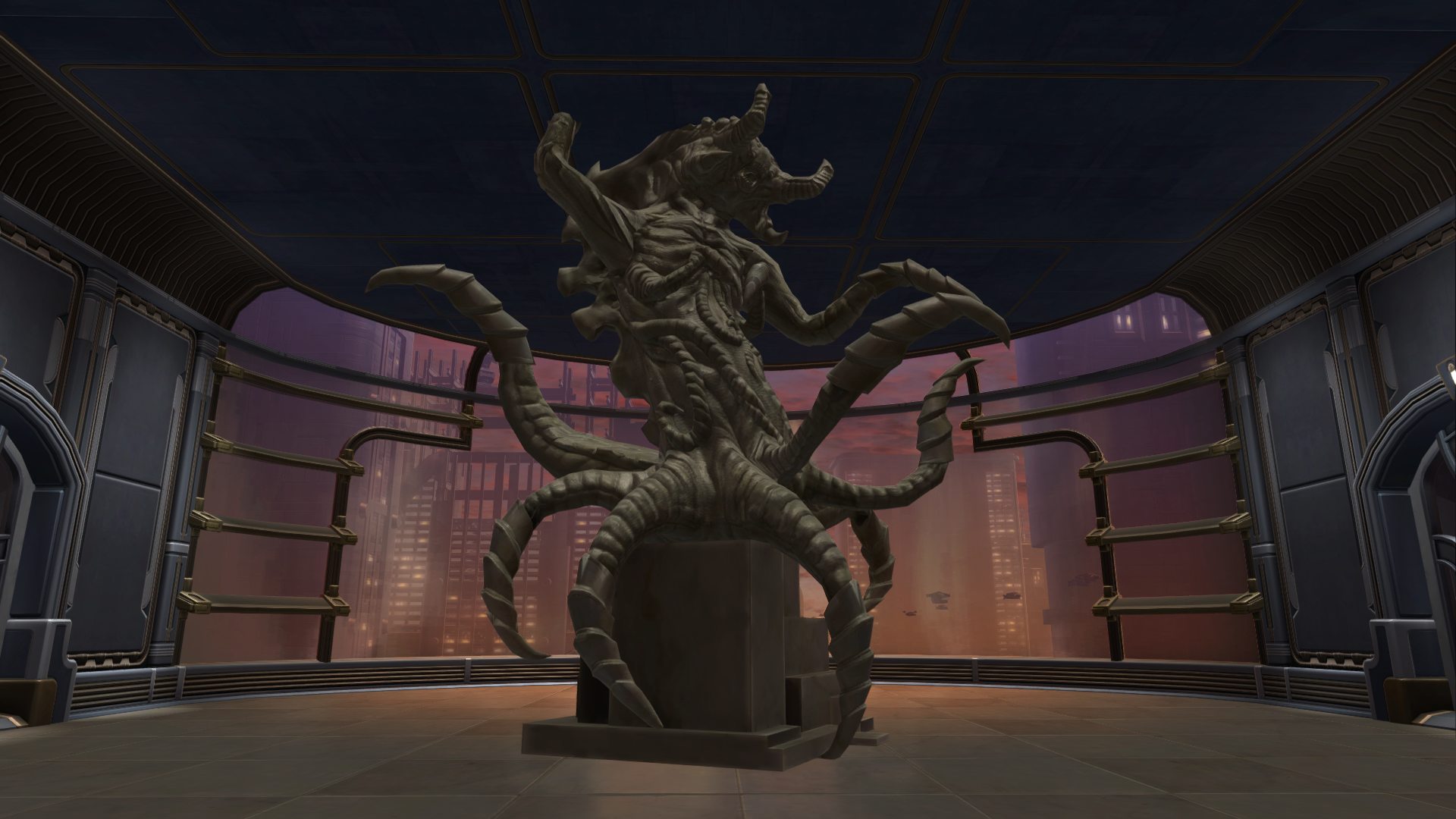 Commemorative Statue of the Terror From Beyond