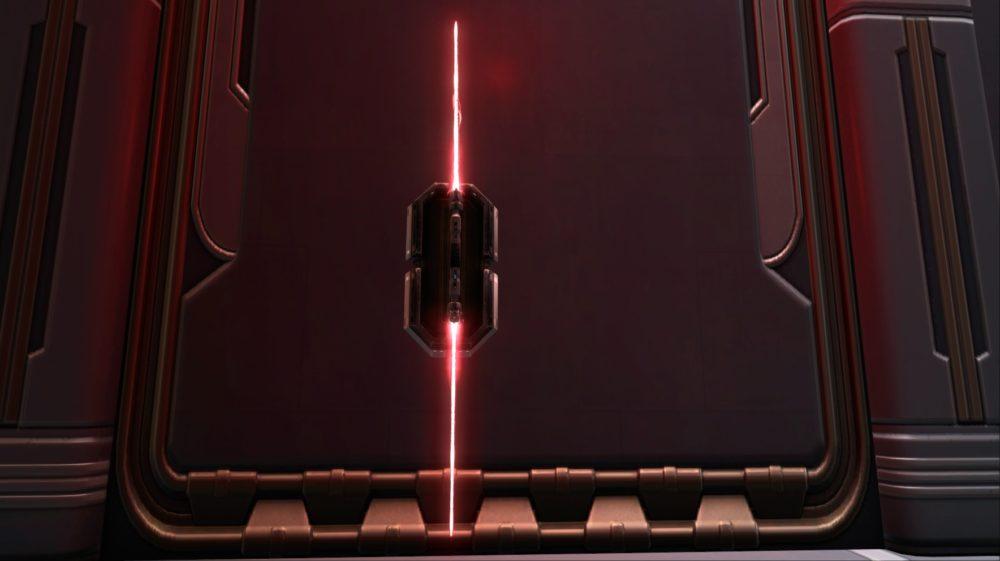 SWTOR Unstable Arbiters Dualsaber (Imperial Crimson)