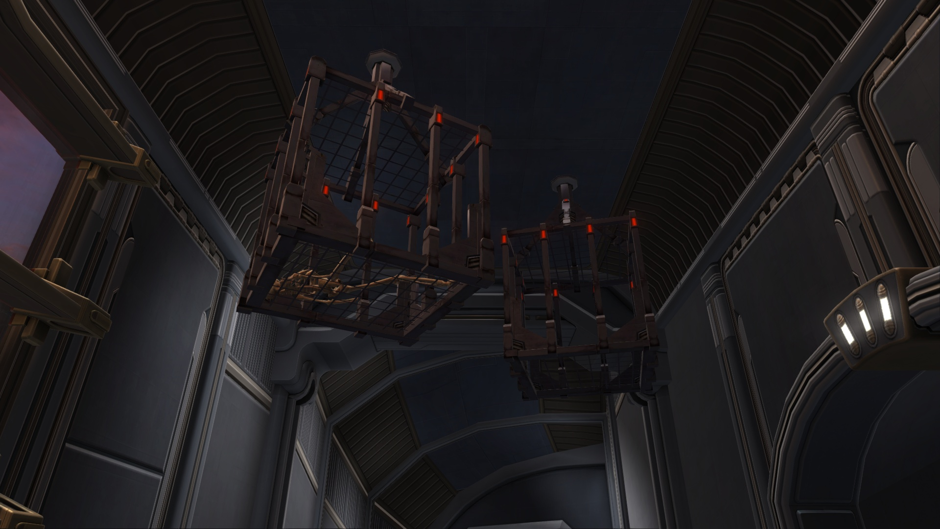 Bounty Ceiling Cages