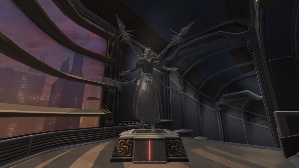 SWTOR Commemorative Statue of Dread Master Brontes