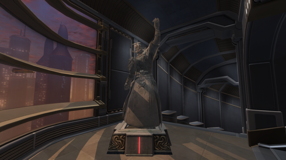 SWTOR Commemorative Statue of Dread Master Styrak