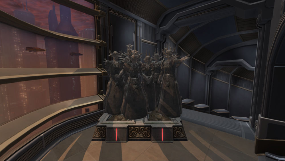 SWTOR Commemorative Statue of the Dread Council