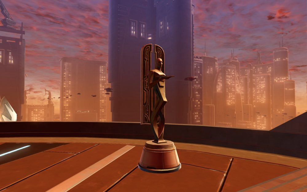 SWTOR Statue of the Dignified Scholar