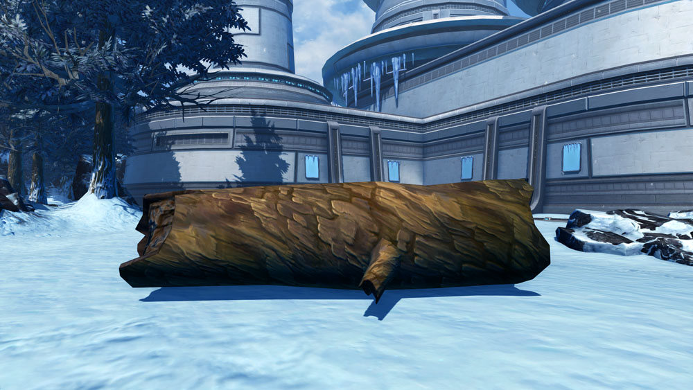 Tree: Fallen Alderaan Log