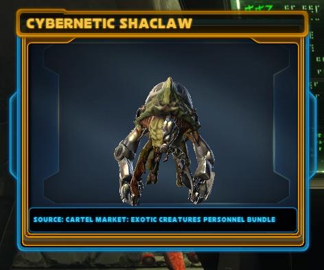Cybernetic Shaclaw
