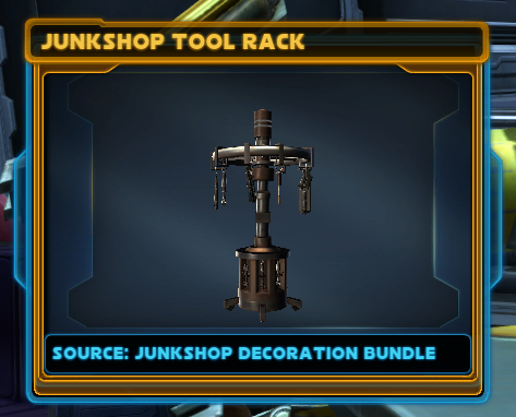 Junkshop Tool Rack
