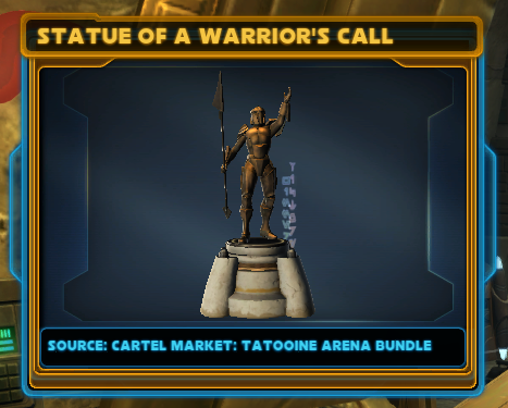 Statue of a Warrior's Call