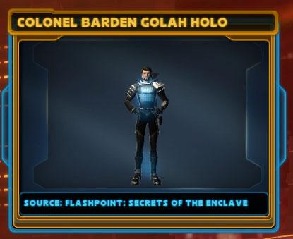 Colonel Barden Golah Holo