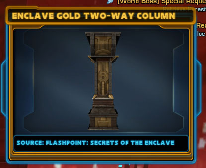 Enclave Gold Two-Way Column