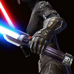 Ancient Ardent Blade's Lightsaber (off hand) Armor Set armor thumbnail.