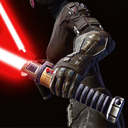 Ancient Vindicator's Lightsaber (off hand) Armor Set armor thumbnail.