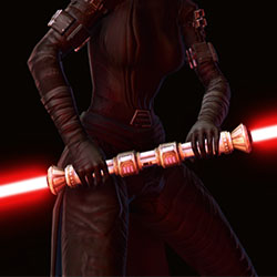 Lightsaber of Defiance Armor Set armor thumbnail.