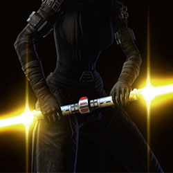 Warmaster's Double-Bladed Lightsaber Armor Set armor thumbnail.