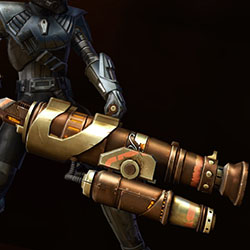 Trimantium Assault Cannon Armor Set armor thumbnail.